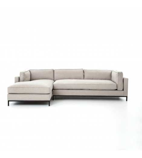 FRITZIE SECTIONAL, NATURAL - Lulu and Georgia