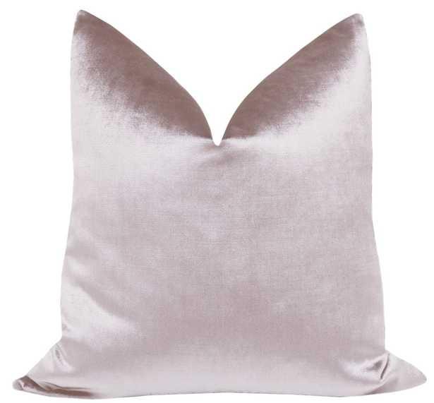 Faux Silk Velvet // Smokey Lavender - Little Design Company