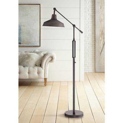 Turnbuckle Downbridge LED Floor Lamp Bronze Finish - Lamps Plus