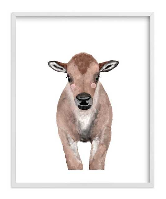 Baby Animal Bison - Minted