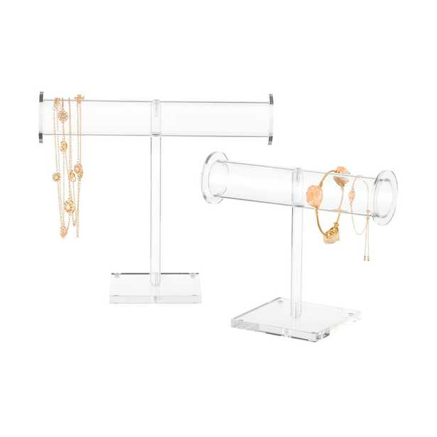 Acrylic Necklace Stand Clear - containerstore.com