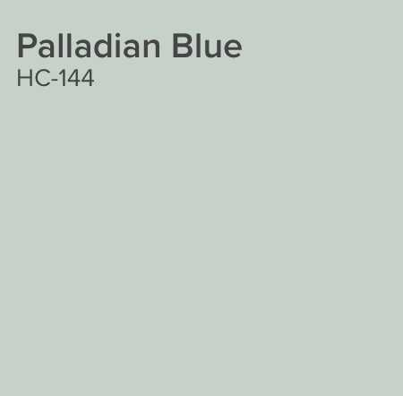 BM Palladian Blue Advance Satin Enamel - Benjamin Moore