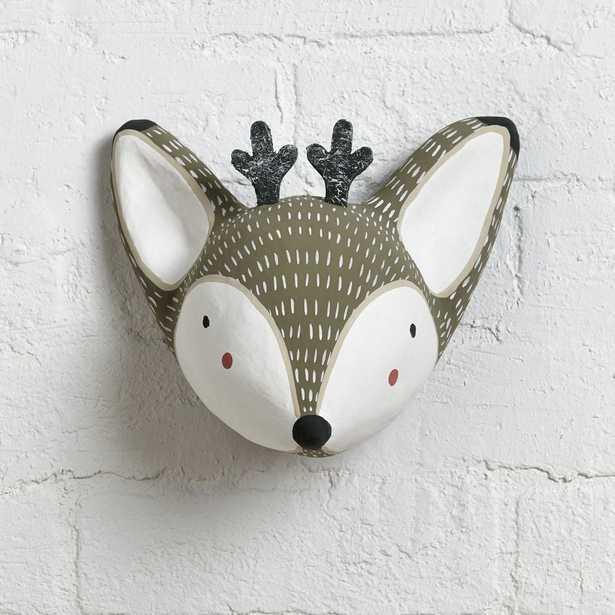 Paper Mache Deer Head - Crate and Barrel