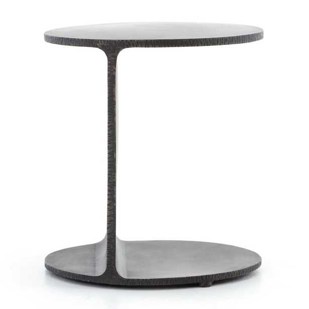 Jackie Iron End Table - Crate and Barrel