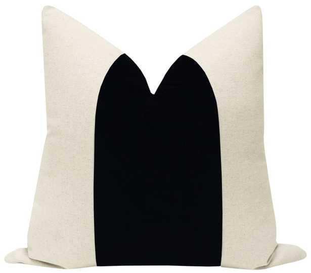 "PANEL :: Signature Velvet // Noir - 12"" X 18"" - Little Design Company"