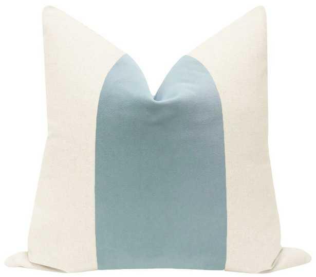 "PANEL :: Signature Velvet // Spa Blue - 18"" X 18"" - Little Design Company"