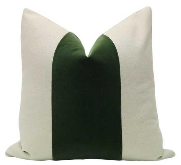 """PANEL :: Signature Velvet // Fern - 20"""" X 20"""" - Little Design Company"""