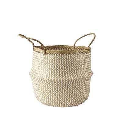 Belly Straw Seagrass Baskets, Set of 2 - Wayfair