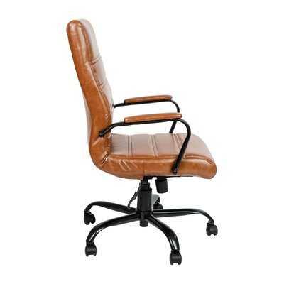 Wayfair Basics High Back Swivel with Wheels Ergonomic Executive Chair - Wayfair