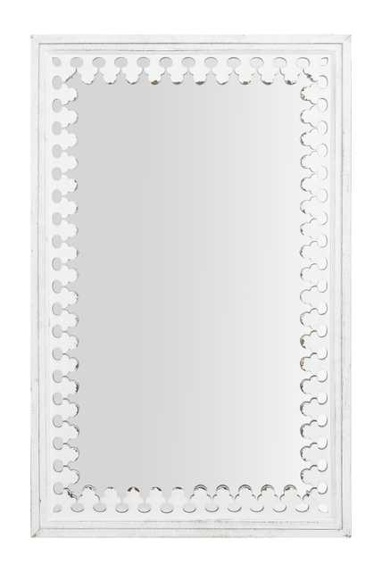 """43.25"""" Wood Wall Mirror - Nomad Home"""