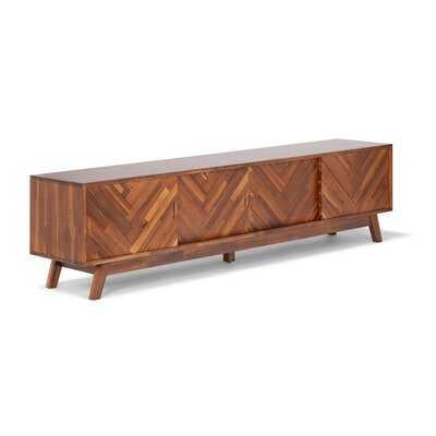 """Cielito Solid Wood TV Stand for TVs up to 85"""" RESTOCK Jul 10, 2021. - Wayfair"""