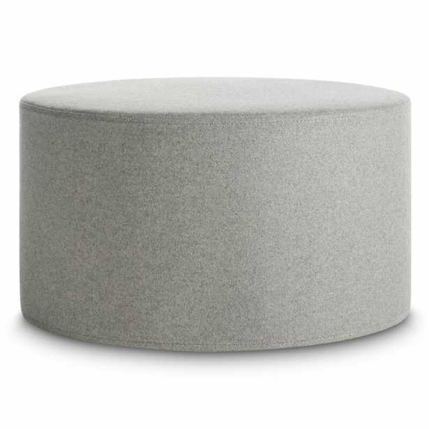 Blu Dot Bumper Large Ottoman Fabric: Vesper Light Gray - Perigold