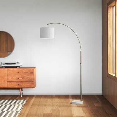 """Montes 73.5"""" Arched Floor Lamp - AllModern"""
