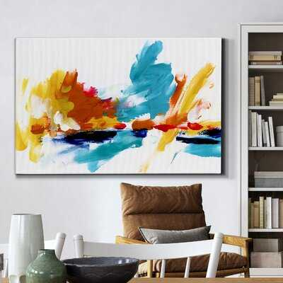 Captive Color II - Wrapped Canvas Painting Print - Wayfair