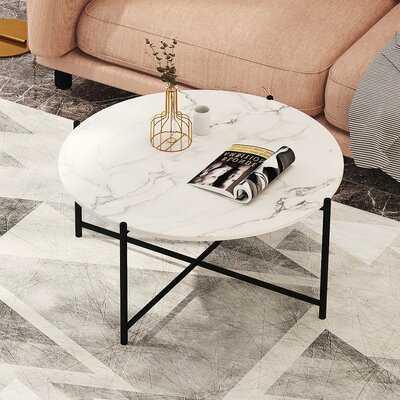 Cross Legs Nesting Coffee Table in , Marble - Wayfair