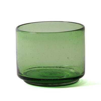 Tribble Cantel Glass Straight Table Vase - AllModern