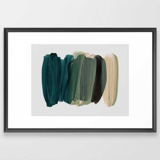 Minimalism 8-1 Framed Art Print by Iris Lehnhardt - Scoop Black - LARGE (Gallery)-26x38 - Society6