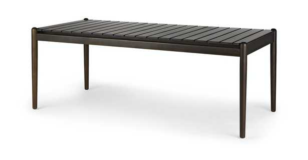 Lagora Bistro Brown Dining Table for 6 - Article
