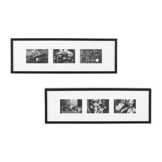 StyleWell Black Gallery Wall Picture Frame (Set of 2) - Home Depot