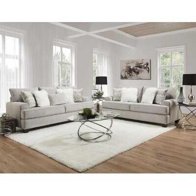 Bettyann Dove Grey Sofa & Loveseat Set - Wayfair