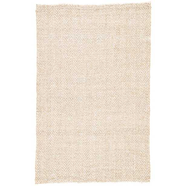 Terre Hand-Loomed Beige Area Rug Rug Size: Rectangle 5' x 8' - Perigold