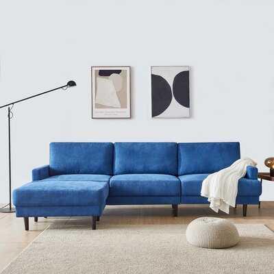 """Salazar Modular 104"""" Square Arm Sofa - Wayfair"""