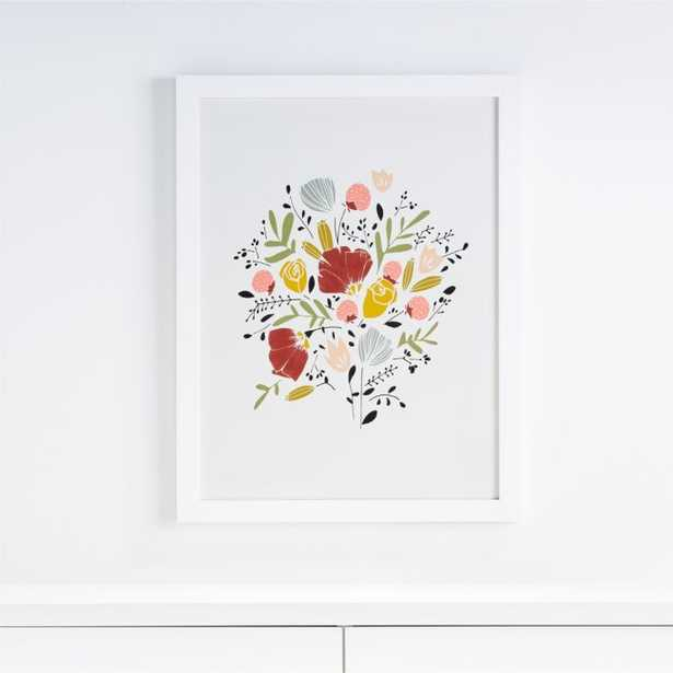 Bloom Framed Wall Art - Crate and Barrel