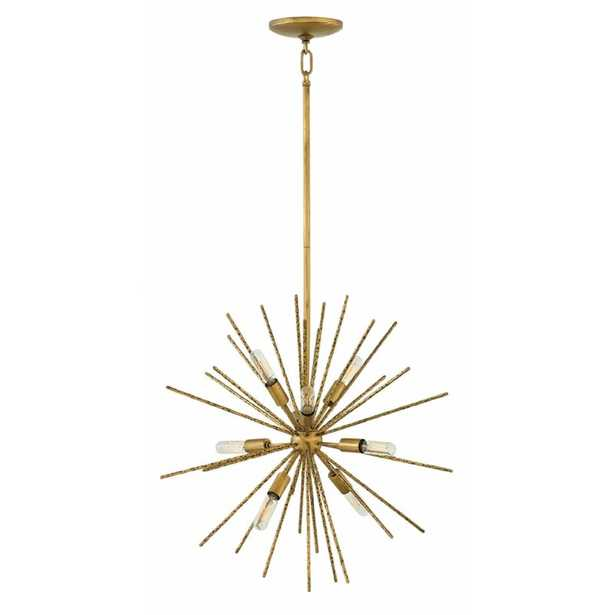 Tryst 8-Light Sputnik Sphere Chandelier Finish: Burnished Gold - Perigold
