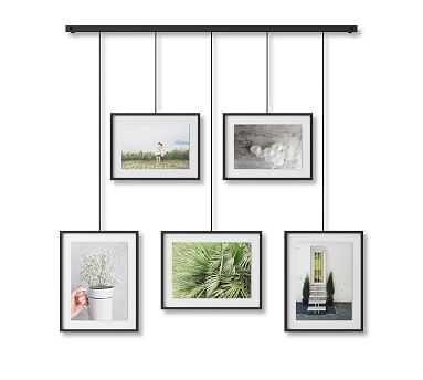 Hanging Black Gallery Frames, Set of 5 - Pottery Barn
