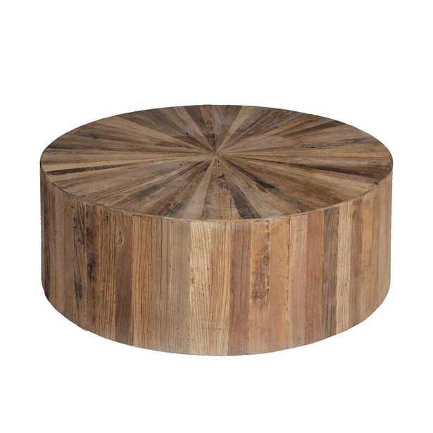 Gabby Cyrano Drum Coffee Table - Perigold