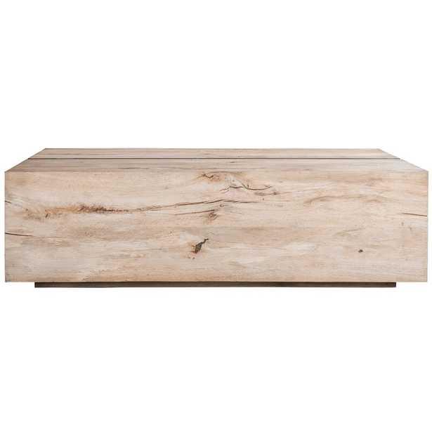 Taracea Tacto Solid Wood Block Coffee Table - Perigold