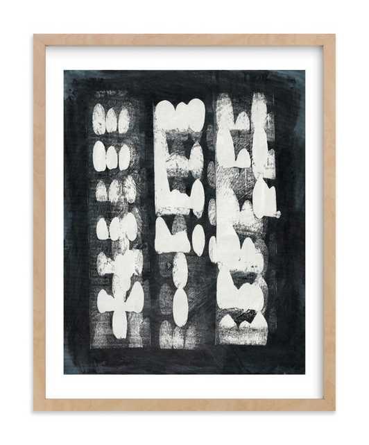 Domino Effect Art Print - Minted