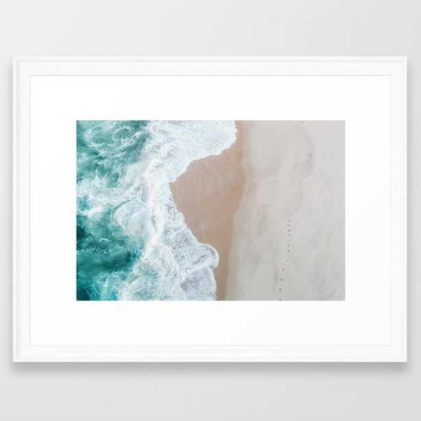 Ocean Mint Framed Art Print by Ingrid Beddoes Photography - Scoop White - MEDIUM (Gallery)-20x26 - Society6