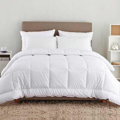 Medium Weight All Season Down Alternative Comforter - AllModern