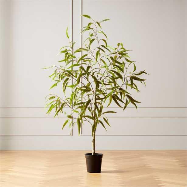 Faux Potted Eucalyptus Tree 5' - CB2