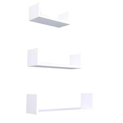 Akiem Wood 3 Piece Wall Shelf Set - Wayfair