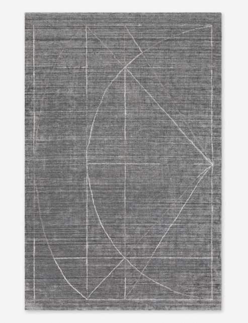 Anjolie Rug, Charcoal 8' x 10' - Lulu and Georgia