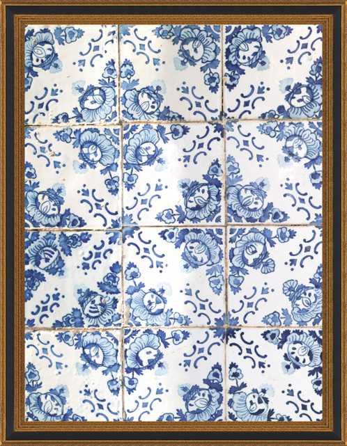 Azulejos by Ingrid Beddoes for Artfully Walls - Artfully Walls