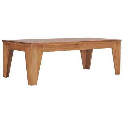 Glenni Solid Wood Coffee Table - Wayfair