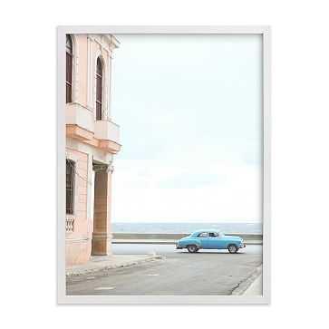 """Pastel Nostalgia, White Wood Frame, 18""""x24"""" - West Elm"""