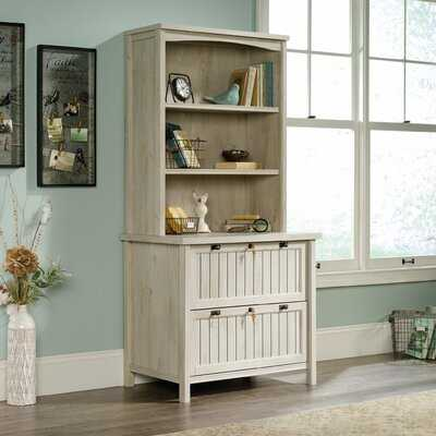 Shelby 2 Drawer Lateral Filing Cabinet With Hutch - Wayfair