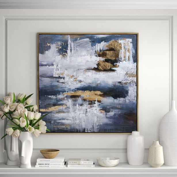 Nakasa Nakasa 'Harmonious' - Pictured Frame Painting Print on Wood - Perigold