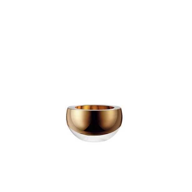 "LSA International Host Decorative Bowl Color: Gold, Size: 2.25"" H x 3.75"" W x 3.75"" D - Perigold"