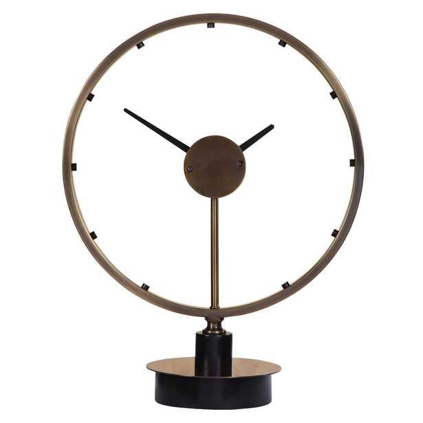 Davy Modern Table Clock - Hudsonhill Foundry