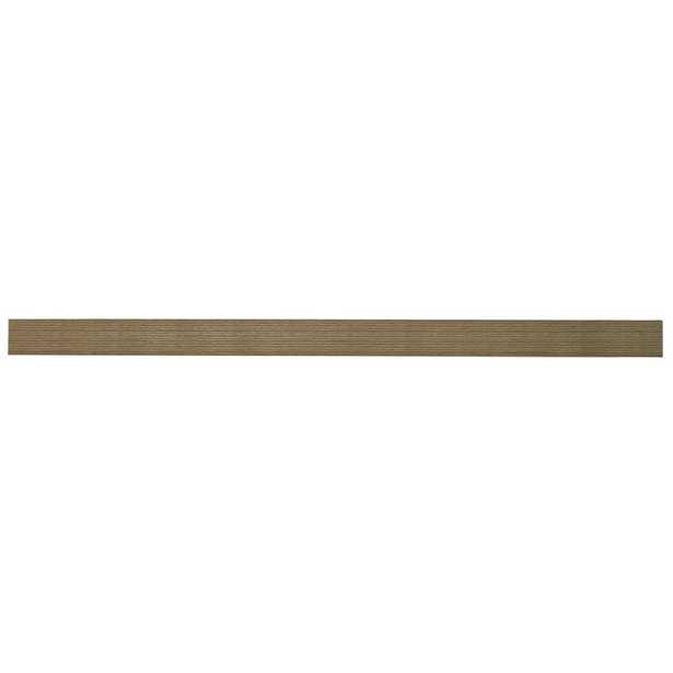 48 in. W x 10.2 in. D x 2 in. H Driftwood Gray Oak Extended Size Floating Shelf - Home Depot