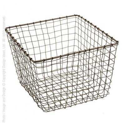 Ivanka Wire Basket - AllModern