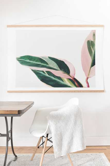 """Pink Leaves Ii by Cassia Beck - 30""""x40"""" - Wander Print Co."""