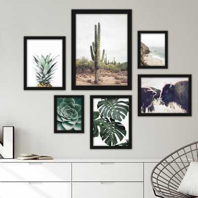Southwest 6 Piece Framed Graphic Art Print Set - AllModern