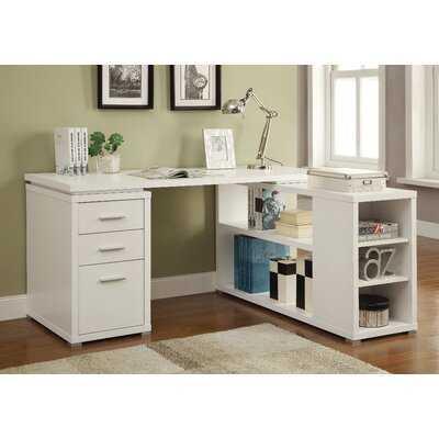 Carbonell Reversible L-Shape Desk - Wayfair