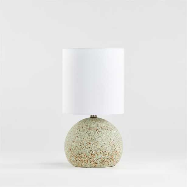 Mint Terrazzo Table Lamp - Crate and Barrel